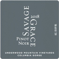 2018 Pinot Noir, Underwood Mountain Vineyards