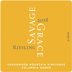 2018 Riesling, Underwood Mountain Vineyards
