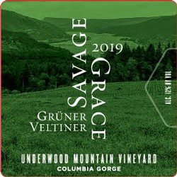 2019 Gruner Veltliner, Underwood Mountain Vineyard
