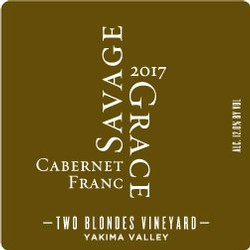 2017 Cabernet Franc, Two Blondes