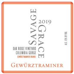 2019 Gewurztraminer Orange, Oak Ridge