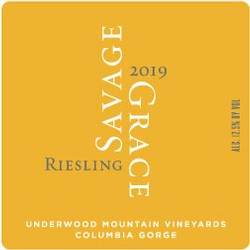 2019 Riesling, Underwood Mountain Vineyards