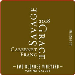 2018 Cabernet Franc, Two Blondes